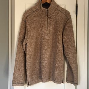 True Grit Jackets & Coats - True Grit Pullover XL Men's Tan